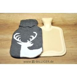 Designer Wärmflasche mit Bezug