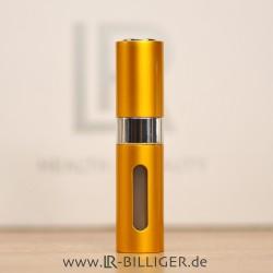 Parfum Zerstäuber gold