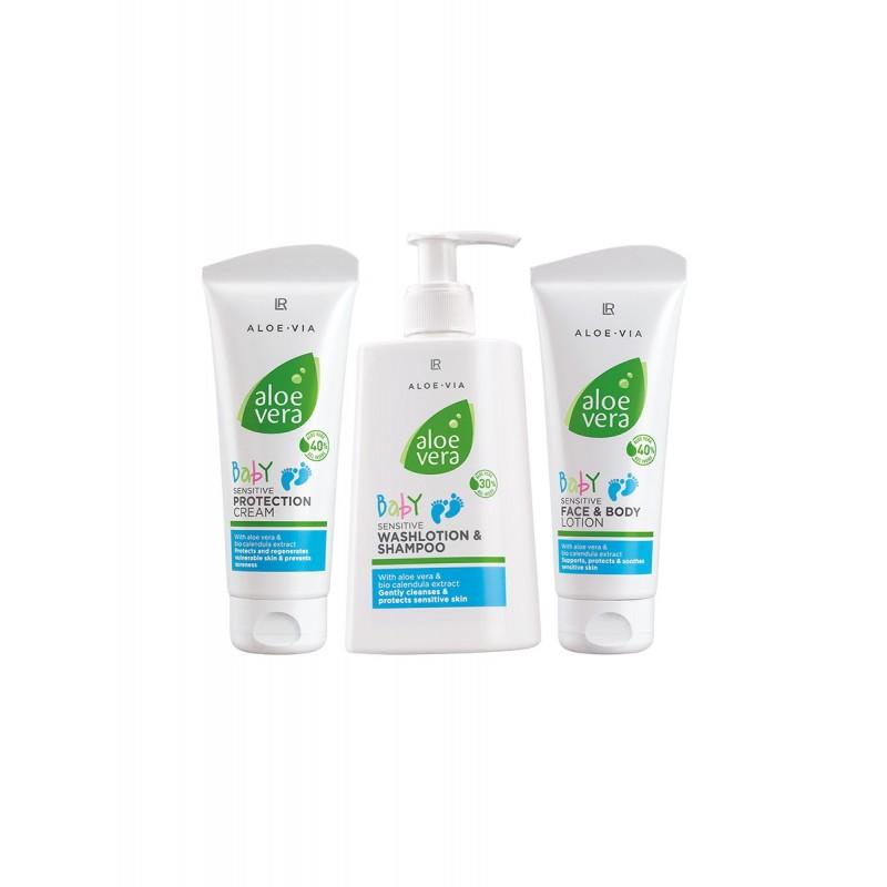 LR Aloe Vera Baby Creme und Shampoo