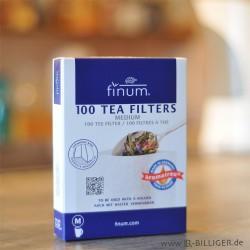 finum 100 Tea filters Größe M