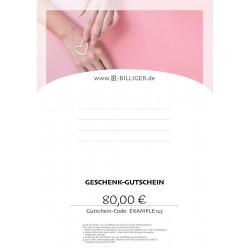 Geschenk-Gutschein LR Pflegeartikel