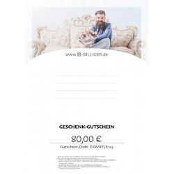 Geschenk-Gutschein LR Allgemein Men