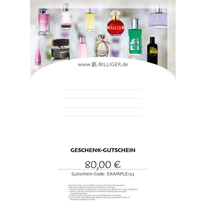 Geschenk-Gutschein LR Parfum