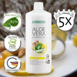 Aloe Vera Dirnking Gel Immune Plus 5-er Sparset