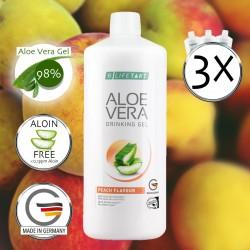 Aloe Vera Drink Set Pfirsich