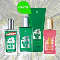 LR Jungle Man Family Extreme woman showergel